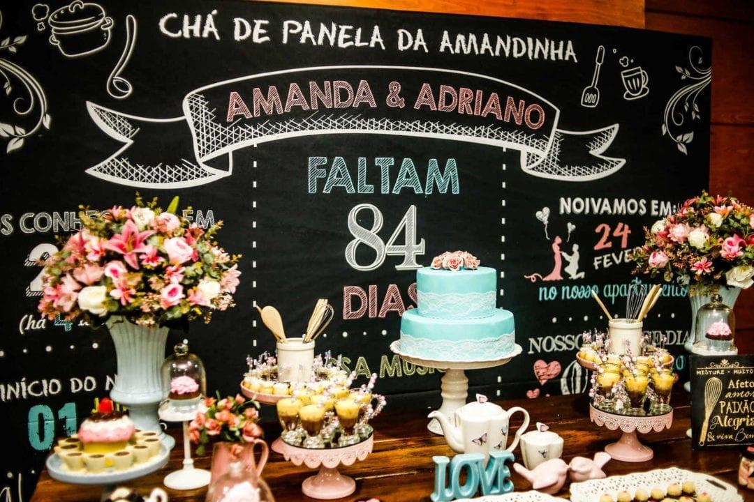Chá de panela: Amanda Fraga