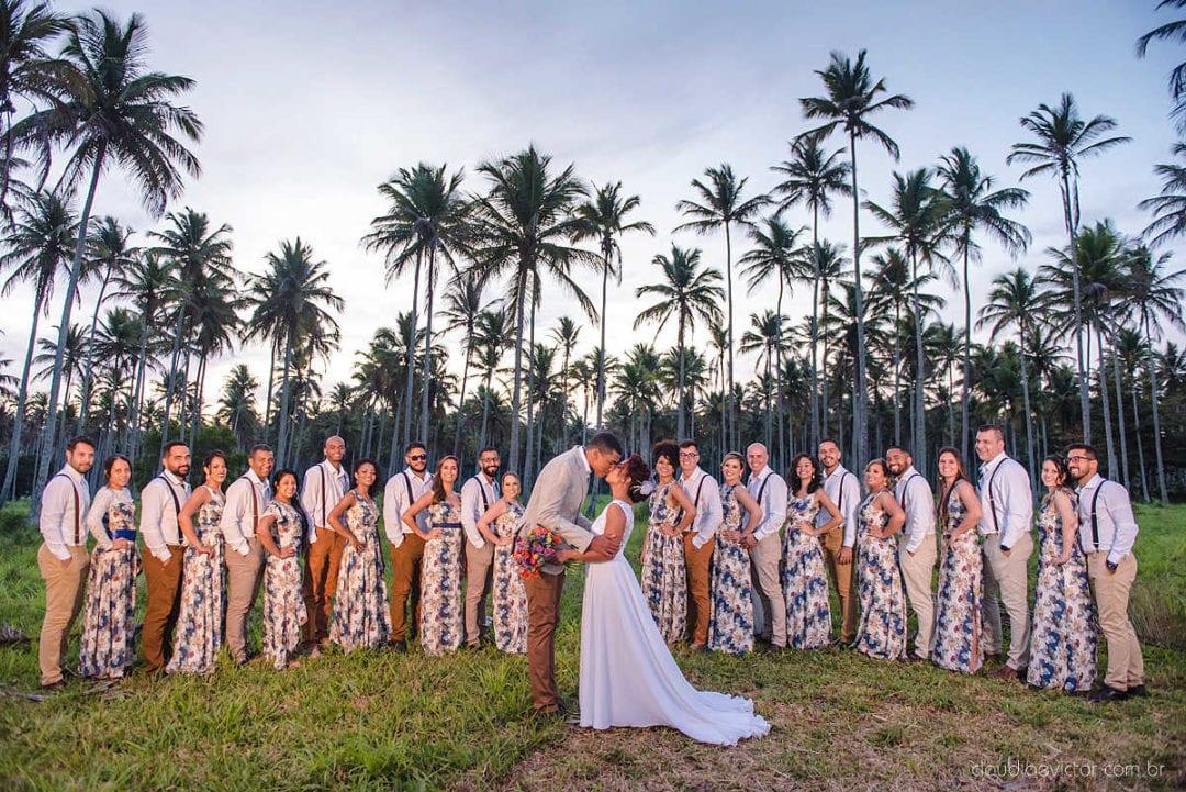 Mini Wedding: Érika e Deivid