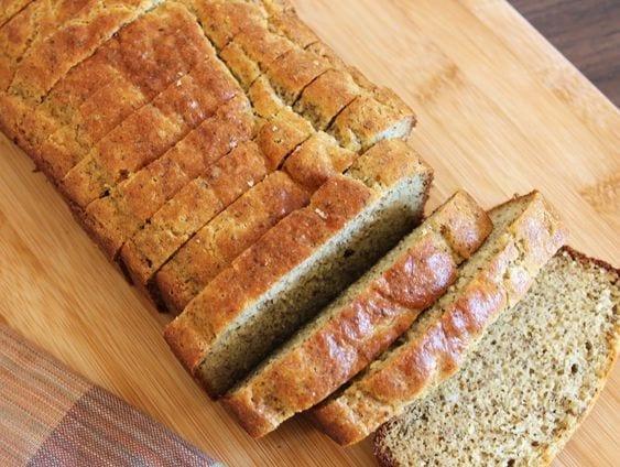 Pão de forma low-carb