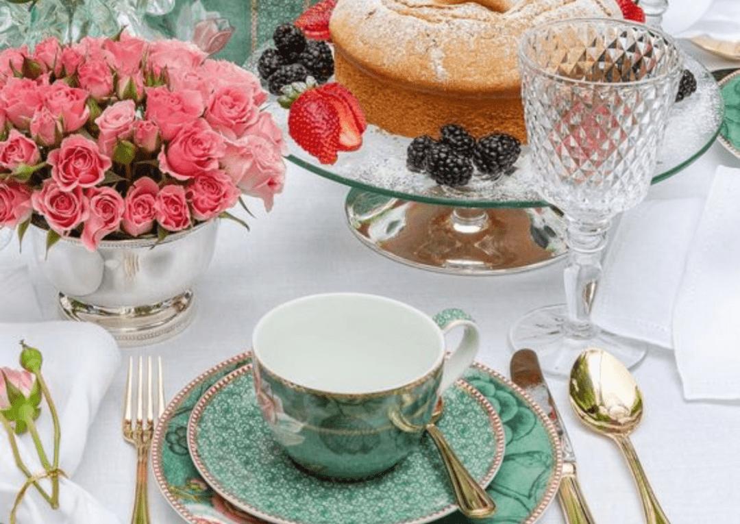 Como montar uma mesa de lanche ou chá da tarde