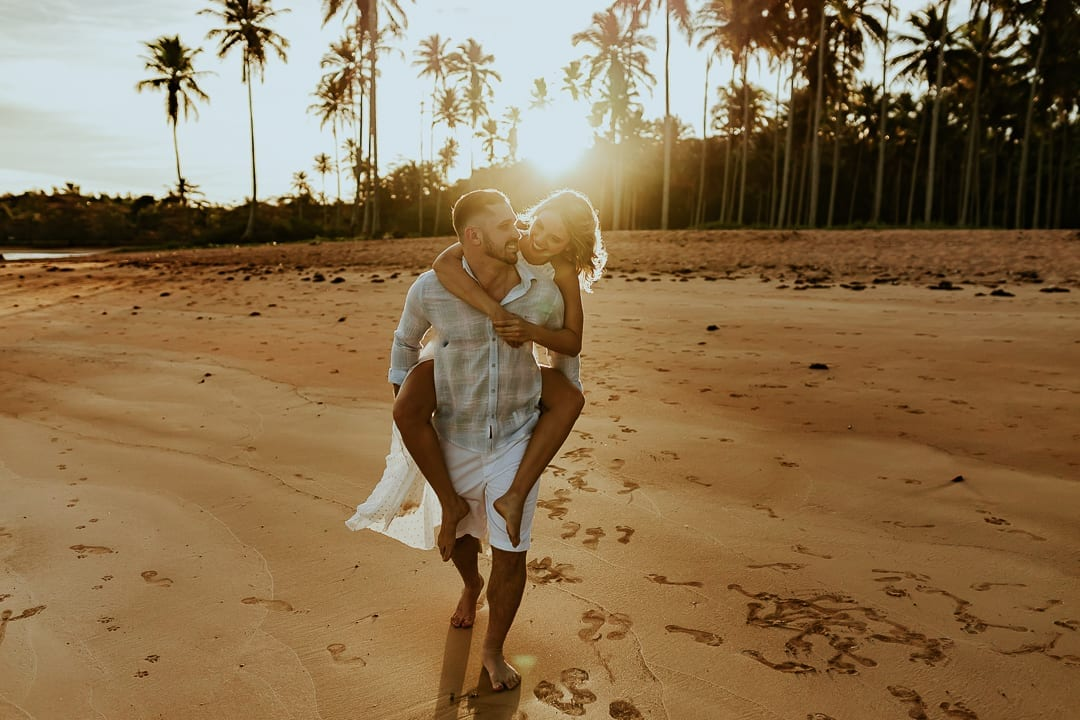 Pré wedding na praia – Nathália e João